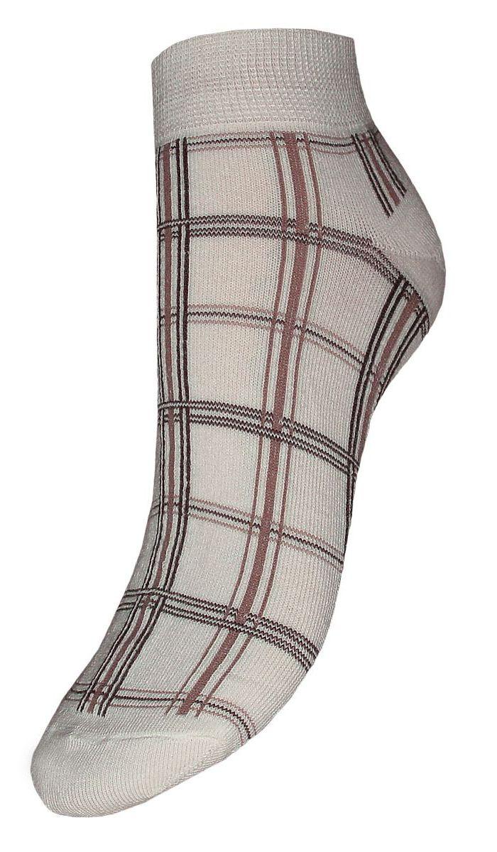 SCL20Женские носки Гранд выполнены из высококачественного хлопка, предназначены для повседневной носки. Носки с бесшовной технологией зашивки мыска (кеттельный шов), оформленные текстурным рисунком клетки, изготовлены по европейским стандартам из лучшей гребенной пряжи, хорошо держат форму и обладают повышенной воздухопроницаемостью, имеют безупречный внешний вид, усиленные пятку и мысок для повышенной износостойкости, после стирки не меняют цвет. Носки долгое время сохраняют форму и цвет, а так же обладают антибактериальными и терморегулирующими свойствами.