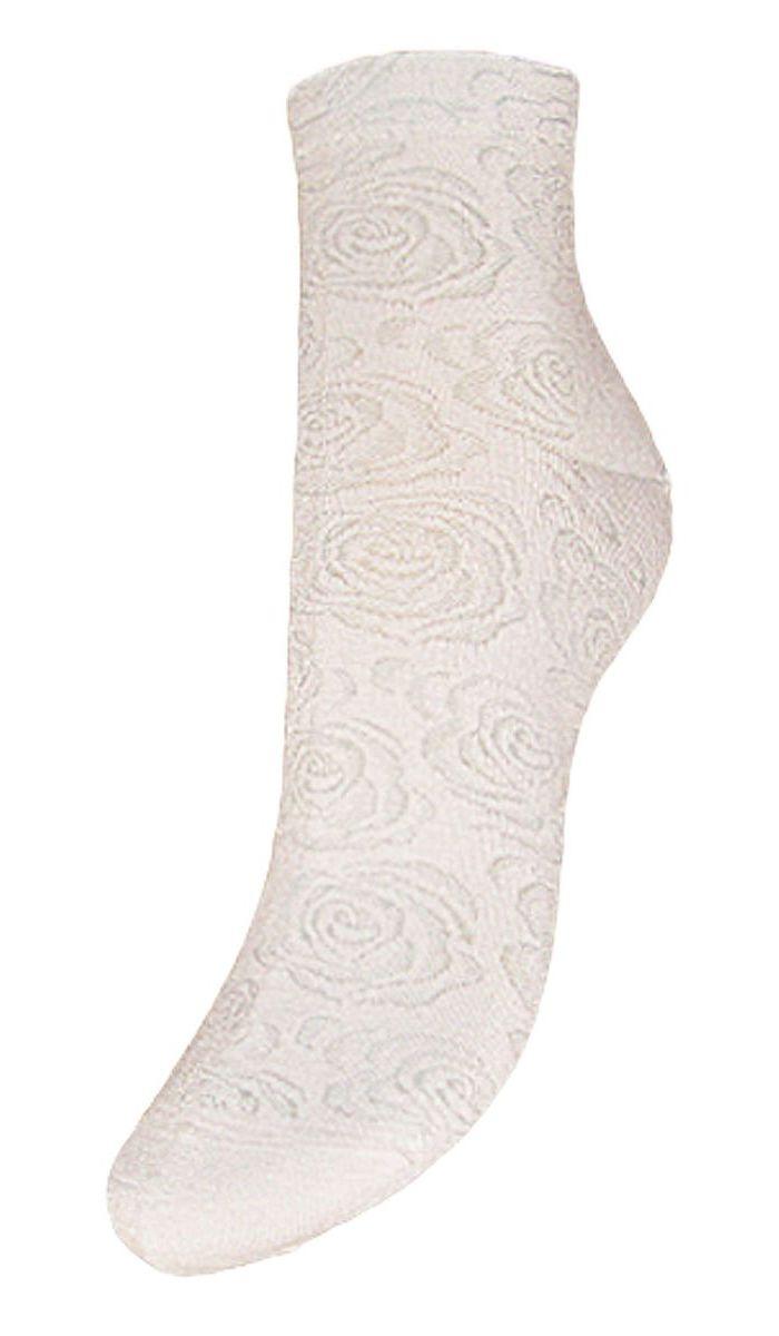 SCL37Женские носки Гранд выполнены из высококачественного хлопка, предназначены для повседневной носки. Укороченные носки оформлены рисунком розочки. Носки долгое время сохраняют форму и цвет, а так же обладают антибактериальными и терморегулирующими свойствами.
