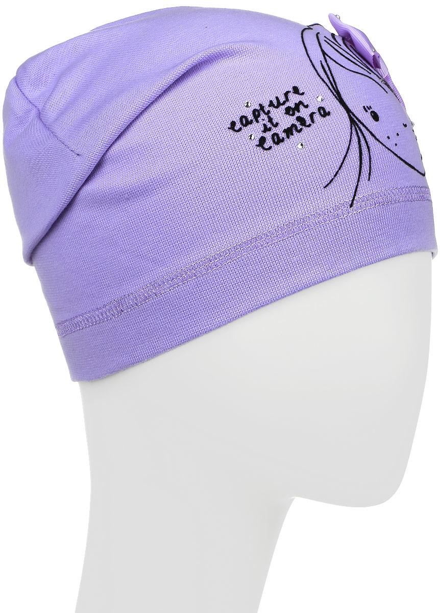 Шапка детскаяDC4701-22Шапка для девочки Fishka станет стильным и красивым дополнением к детскому гардеробу. Шапка выполнена из мягкого эластичного материала, приятная на ощупь, идеально прилегает к голове. Изделие оформлено изображением девочки и надписью, декорировано атласным бантом и стразами. Современный дизайн и расцветка делают эту шапку модным детским аксессуаром. В такой шапке ребенок будет чувствовать себя уютно, комфортно и всегда будет в центре внимания! Уважаемые клиенты! Размер, доступный для заказа, является обхватом головы.