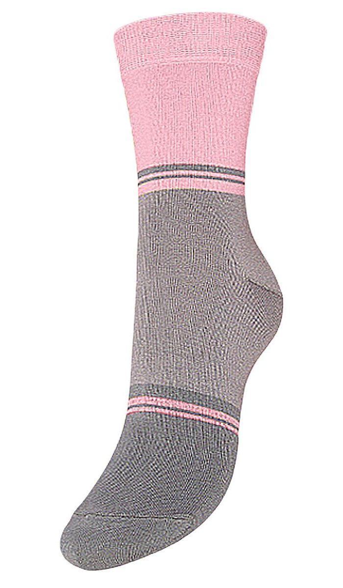 НоскиSCL40Женские носки Гранд выполнены из высококачественного хлопка, предназначены для повседневной носки. Носки с бесшовной технологией зашивки мыска (кеттельный шов) хорошо держат форму и обладают повышенной воздухопроницаемостью, имеют безупречный внешний вид, усиленные пятку и мысок для повышенной износостойкости, после стирки не меняют цвет. Благодаря свойствам эластана, не теряют первоначальный вид. Носки долгое время сохраняют форму и цвет, а так же обладают антибактериальными и терморегулирующими свойствами.