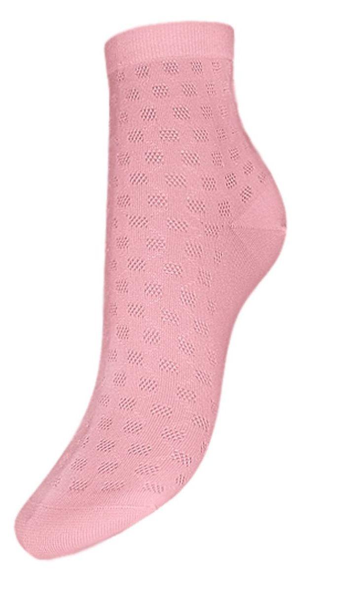 НоскиSP13Женские носки Гранд выполнены из хлопка с добавлением полиамида и эластана. Носки с бесшовной технологией (кеттельный, плоский шов), оформленные фактурным рисунком сетчатые прямоугольники, хорошо держат форму и обладают повышенной воздухопроницаемостью, имеют мягкую резинку, усиленные пятку и мысок. Эти носки отлично сочетаются с летними босоножками и туфлями.