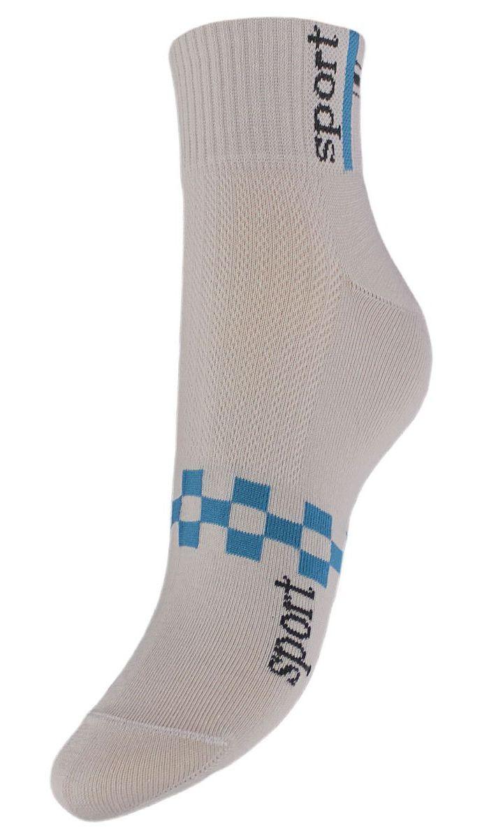 НоскиSCL55Женские укороченные носки Гранд выполнены из высококачественного хлопка. Носки, оформленные на паголенке надписью sport, изготовлены по европейским стандартам из самой лучшей гребенной пряжи, имеют усиленные пятку и мысок для повышенной износостойкости. Функция отвода влаги позволяет сохранить ноги сухими. Благодаря свойствам эластана, не теряют первоначальный вид. Носки долгое время сохраняют форму и цвет, а так же обладают антибактериальными и терморегулирующими свойствами.