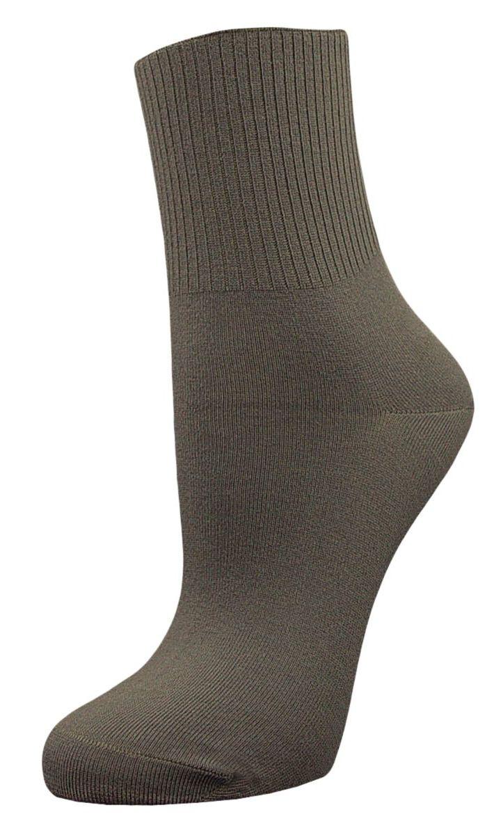 НоскиSCL67Женские носки Гранд с медицинской резинкой изготовлены по специальной технологии для людей, страдающих заболеваниями ног, а также для тех, кто думает о своем здоровье и хочет предотвратить эти заболевания. Данная модель медицинских носков мягкая, удобная, эластичная и прочная. Носки предназначены для оздоровления ног и профилактики венозной недостаточности, а также для снятия синдрома тяжести в ногах. Носки с бесшовной технологией зашивки мыска (кеттельный шов) изготовлены по европейским стандартам из лучшей гребенной пряжи, хорошо держат форму и обладают повышенной воздухопроницаемостью, имеют безупречный внешний вид, усиленные пятку и мысок для повышенной износостойкости, после стирки не меняют цвет. Компания Гранд использует только натуральные волокна для изготовления лечебных носков по всем требованиям медицинских стандартов.
