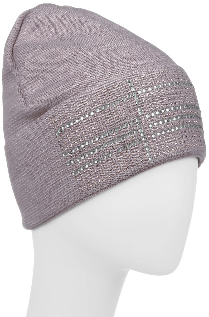 Бисер-22Стильная теплая шапка с отворотом для девочки Concept идеально подойдет для прогулок и активных игр в прохладное время года. Шапка выполнена из шерсти и акрила, она невероятно мягкая и приятная на ощупь, великолепно тянется и удобно сидит. Такая шапочка великолепно дополнит любой наряд. Шапка украшена аппликацией из страз. Уважаемые клиенты! Размер, доступный для заказа, является обхватом головы.