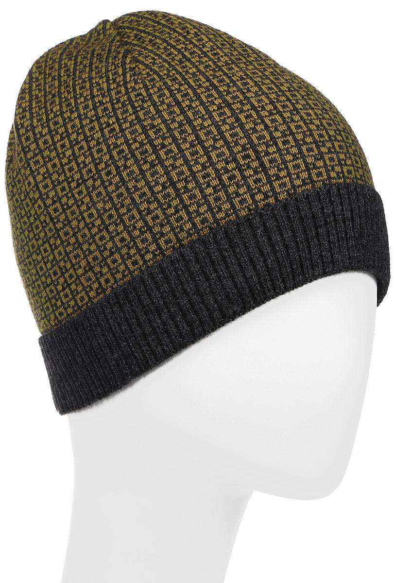 Вершина-22Теплая шапка для мальчика Concept выполнена из высококачественного 100% пана. Шапка с небольшим отворотом оформлена контрастным принтом и дополнена фирменной нашивкой с надписью. Уважаемые клиенты! Размер, доступный для заказа, является обхватом головы.
