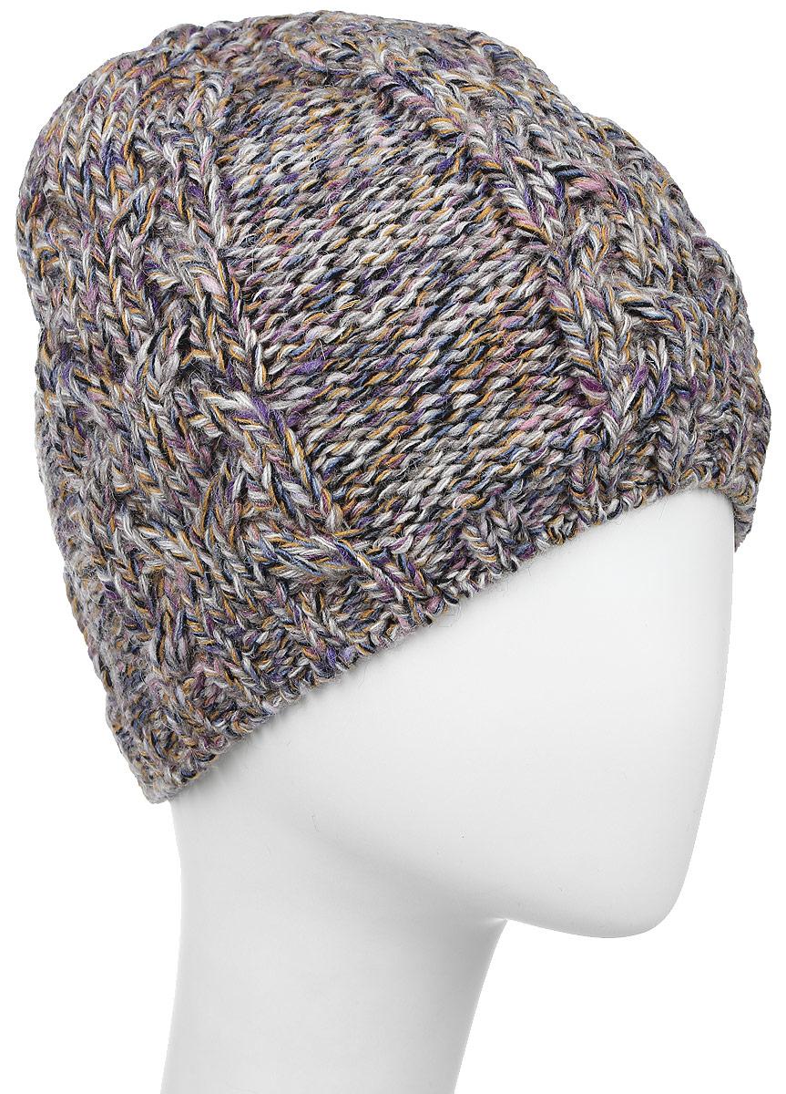 MLH6833/2Женская шапка Marhatter выполнена из сочетания альпаки, шерсти, акрила и полиэстера, подкладка - из полиэстера. Модель оформлена крупной ажурной вязкой. По низу изделие дополнено вязаной резинкой. Уважаемые клиенты! Размер, доступный для заказа, является обхватом головы.