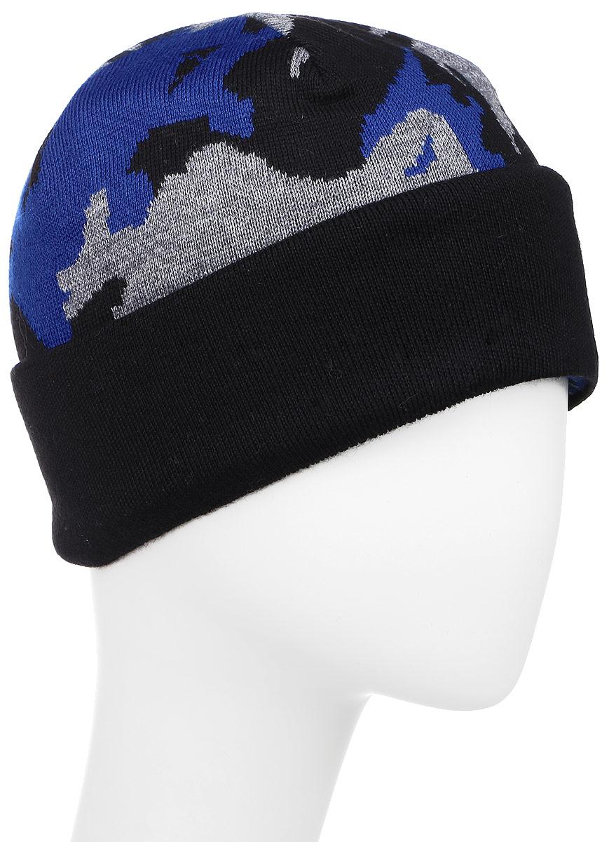 Шапка341664C-18/20Женская шапка Vittorio Richi выполнена из шерсти и полиамида. Модель оформлена хаотичным принтом. По низу изделие дополнено подворотом. Уважаемые клиенты! Размер, доступный для заказа, является обхватом головы.