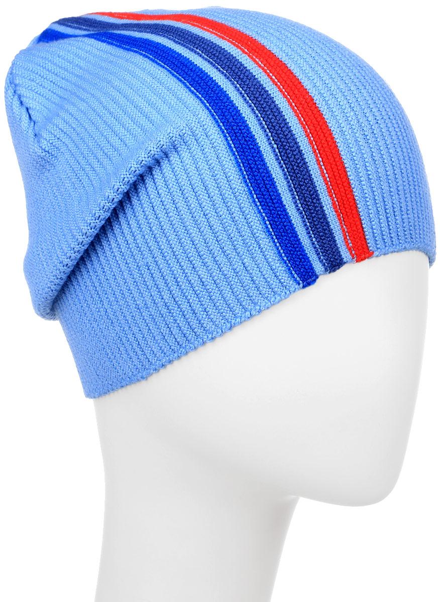 Шапка детскаяM4599-22Детская шапка Fishka изготовлена из шерсти, акрила и лайкры. Уважаемые клиенты! Размер, доступный для заказа, является обхватом головы.