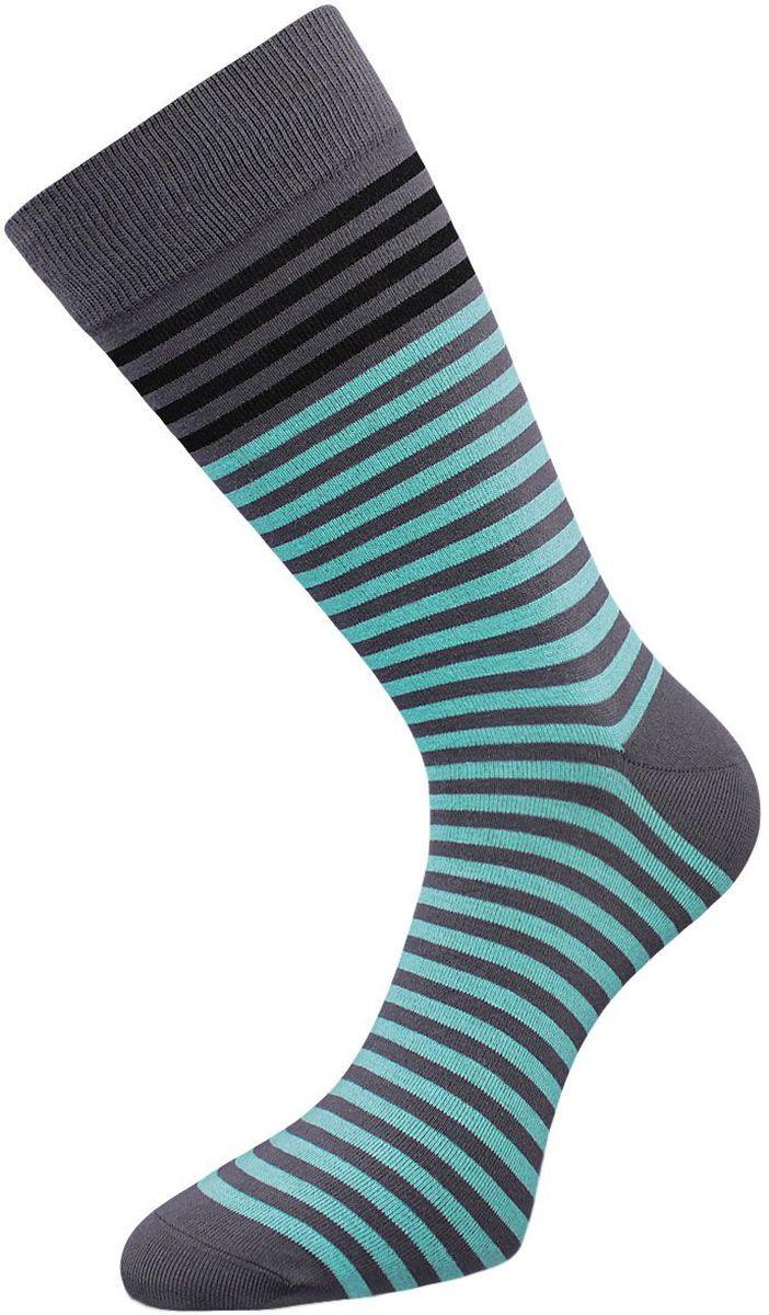 НоскиZCL85Классические мужские носки Гранд выполнены из высококачественного хлопка, для повседневной носки. Носки имеют кеттельный шов (плоский), усиленные пятку и мысок, анатомическую резинку. Модель оформлена полосками. Носки долгое время сохраняют форму и цвет, а так же обладают антибактериальными и терморегулирующими свойствами.