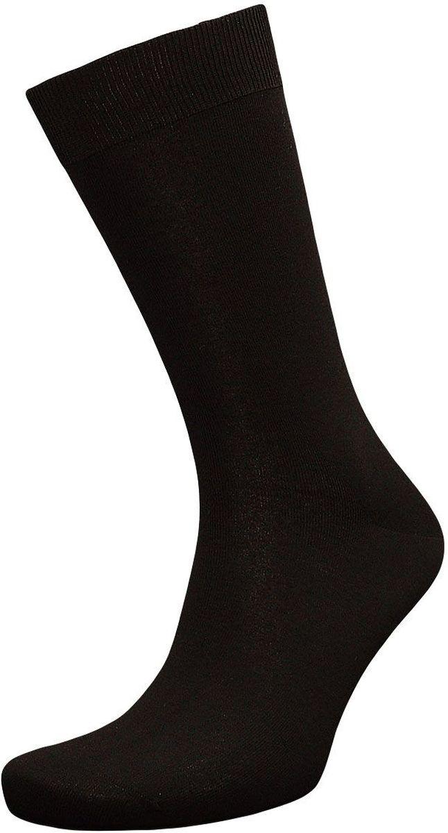 НоскиZB67Классические мужские носки Гранд изготовлены из высококачественного бамбука с добавлением полиамидных и эластановых волокон, они обладают антибактериальными и теплоизолирующими свойствами, хорошо впитывают влагу, не садятся и не деформируются. Изделие имеет легкий шелковый блеск. Мягкая анатомическая резинка идеально облегает ногу. Мысок и пятка усилены. В комплект входят две пары носков.