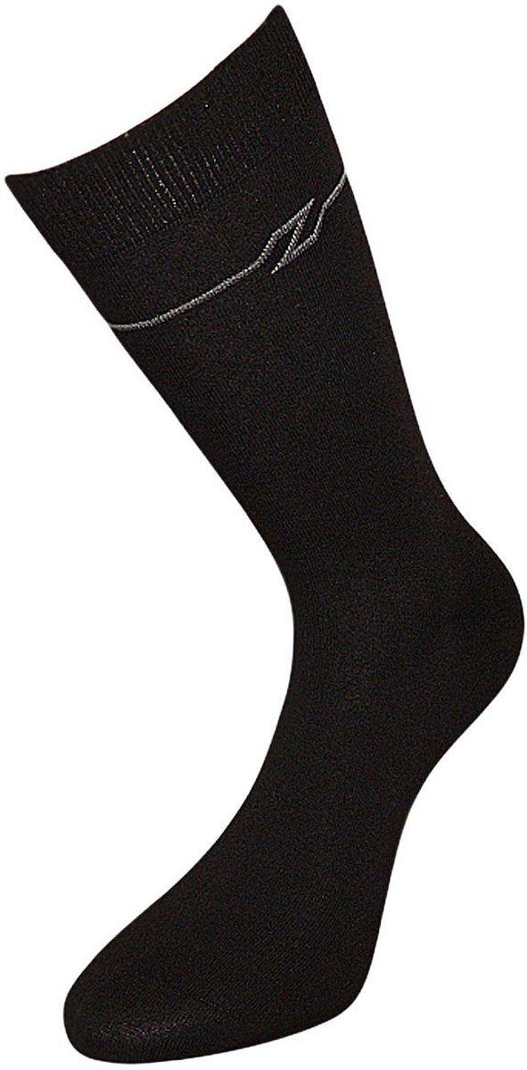 НоскиZC56Мужские носки Гранд выполнены из хлопка, для повседневной носки. Модель оформлена рисунком в полоску вокруг верхней части паголенка. Носки с бесшовной технологией зашивки мыска (кеттельный шов) имеют усиленные пятку и мысок, анатомическую резинку. Носки изготовлены по европейским стандартам из самой лучшей гребенной пряжи.