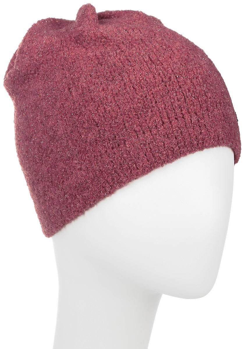 ШапкаSWH5867Женская шапка Snezhna отлично подойдет для модниц в прохладное время года. Изготовленная из высококачественных материалов с использованием металлизированной нити, она мягкая и приятная на ощупь, обладает хорошими дышащими свойствами и максимально удерживает тепло. Изделие оформлено аппликацией в виде страз. Такой стильный и теплый аксессуар дополнит ваш образ и подчеркнет индивидуальность! Уважаемые клиенты! Размер, доступный для заказа, является обхватом головы.