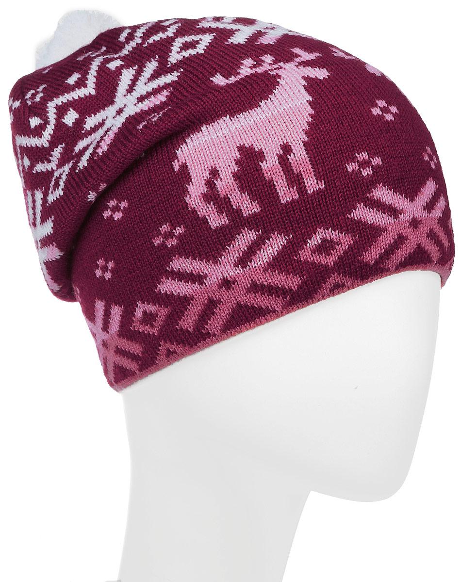 ШапкаMLH7193/1Теплая женская шапка Marhatter отлично дополнит ваш образ в холодную погоду. Удлиненная модель дополнена на макушке небольшим помпоном. Спереди модель дополнена небольшой нашивкой. Такая шапка составит идеальный комплект с модной верхней одеждой, в ней вам будет уютно и тепло. Уважаемые клиенты! Размер, доступный для заказа, является обхватом головы.
