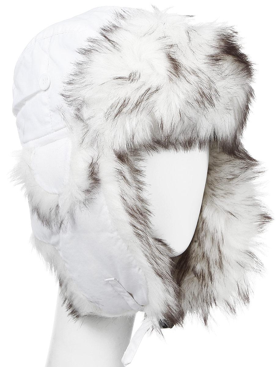 9001Удобная и теплая женская шапка-ушанка с отделкой из искусственного меха Herman - великолепный головной убор на зиму. Свойство ушанки сохранять тепло лежит в функциональной конструкции и деталях, плотно закрывающих лоб и уши. Модель застегивается с помощью хлястика с застежкой-защелкой. Уважаемые клиенты! Размер, доступный для заказа, является обхватом головы.