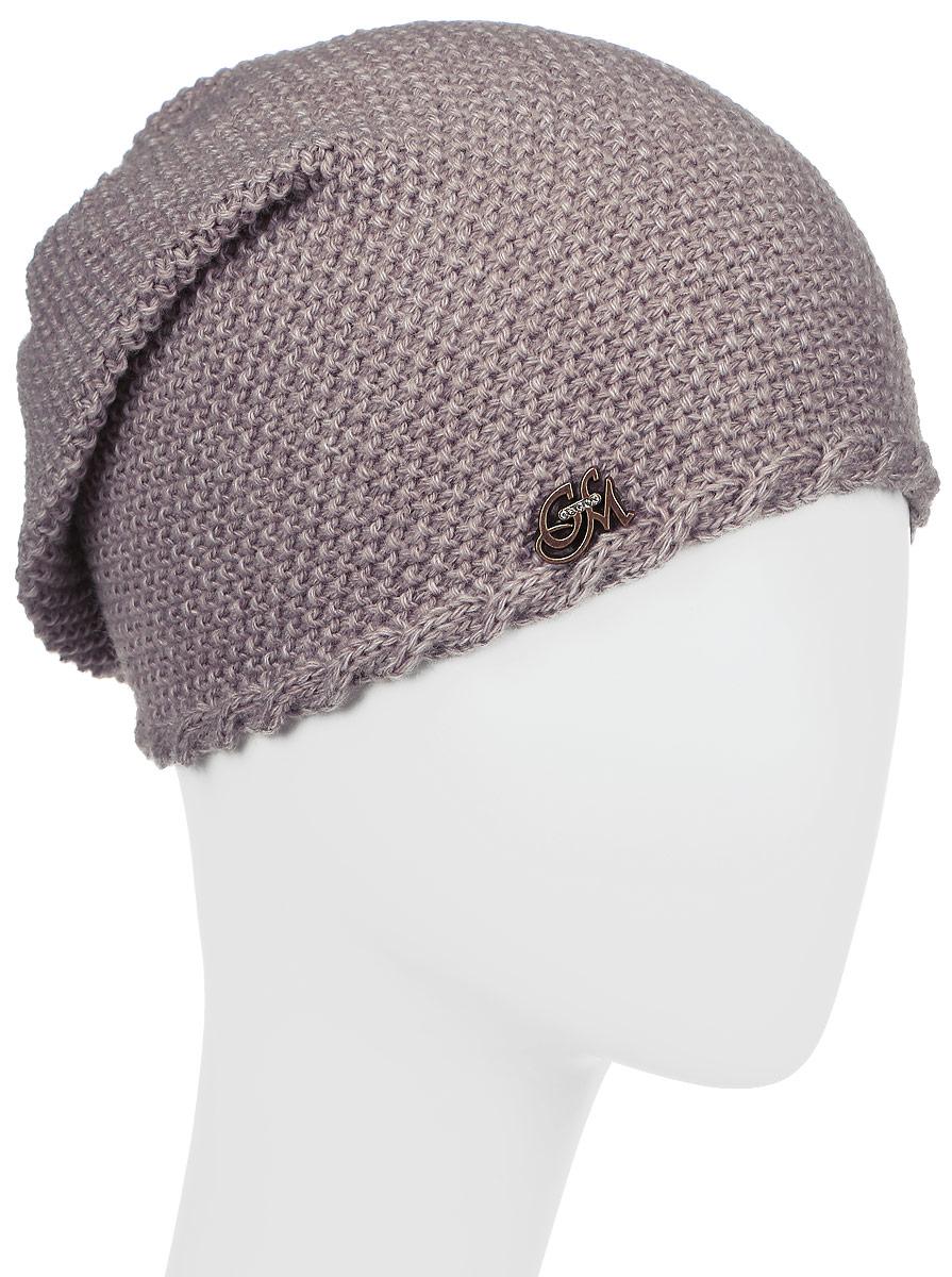 Шапка детскаяПрестиж-22Стильная шапка для девочки Concept, выполненная из 50% шерсти и 50% акрила, идеально подойдет для прогулок в прохладное время года. Она бладает хорошими дышащими свойствами и удерживает тепло. Спереди удлиненная модель дополнена декоративным металлическим элементом. Уважаемые клиенты! Размер, доступный для заказа, является обхватом головы.