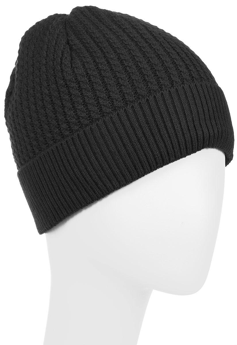 Сидней-22Вязаная шапка для мальчика Concept идеально подойдет для прогулок в холодное время года. Изготовленная из 50% шерсти и 50% акрила, она обладает хорошими дышащими свойствами и хорошо удерживает тепло. Подкладка выполнена из мягкого флиса. Модель снизу дополнена небольшим отворотом и нашивкой с надписью. Такая шапка станет модным и стильным предметом детского гардероба. Она улучшит настроение даже в хмурые холодные дни! Уважаемые клиенты! Размер, доступный для заказа, является обхватом головы ребенка.