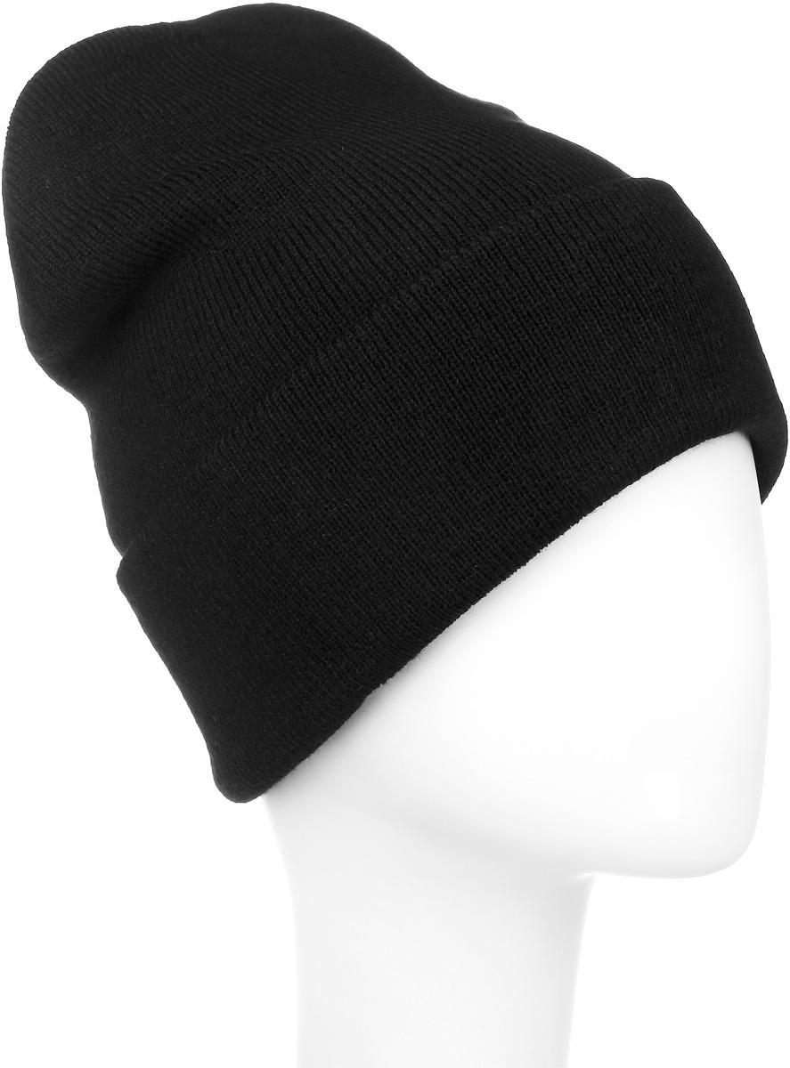 Шапка016 CUFFТеплая шапка Ignite выполнена из высококачественного акрила. Шапка с отворотом оформлена в лаконичном однотонном стиле и дополнена оригинальными нашивками с логотипом бренда. Уважаемые клиенты! Размер, доступный для заказа, является обхватом головы.