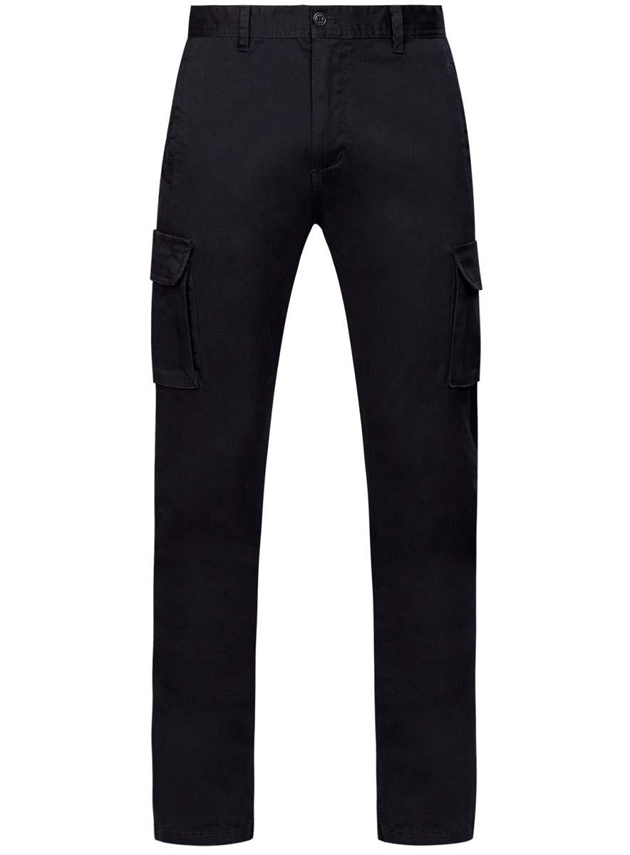 2L100077M/21576N/6600NМужские брюки oodji Lab выполнены из хлопка с добавлением полиуретана. Прямая модель стандартной посадки застегивается на пуговицу в поясе и ширинку на застежке-молнии. Пояс имеет шлевки для ремня. Спереди и сзади брюки дополнены прорезными карманами с листочками. По бедрам брюки оформлены объемными накладными карманами на застежках-кнопках.