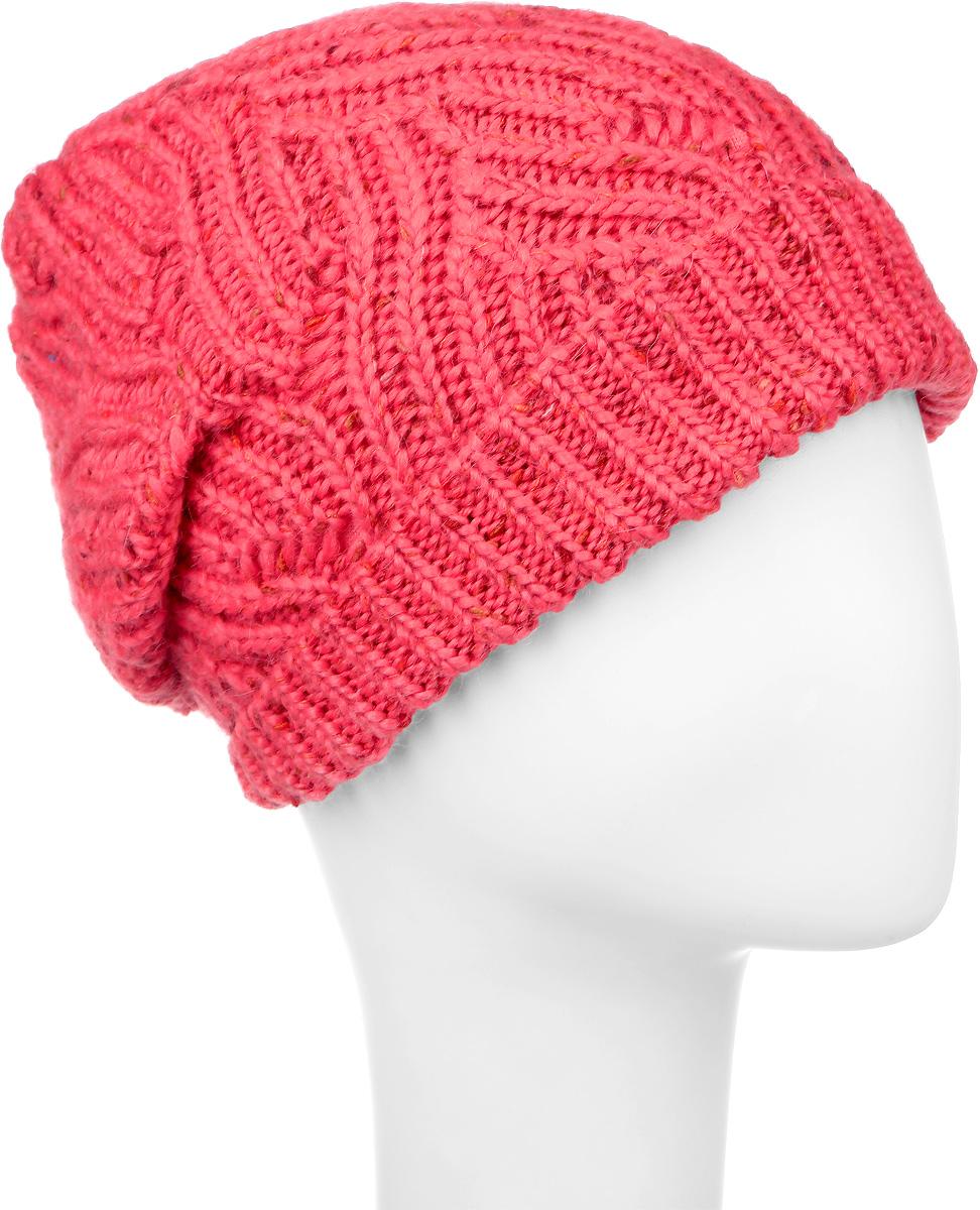 ШапкаMWH5791/2Вязаная женская шапка Marhatter отлично подойдет для модниц в холодное время года. Изготовленная из высококачественных материалов, она мягкая и приятная на ощупь, обладает хорошими дышащими свойствами и максимально удерживает тепло. Подкладка шапки выполнена из мягкого теплого полиэстера. Такой стильный и теплый аксессуар дополнит ваш образ и подчеркнет индивидуальность! Уважаемые клиенты! Размер, доступный для заказа, является обхватом головы.
