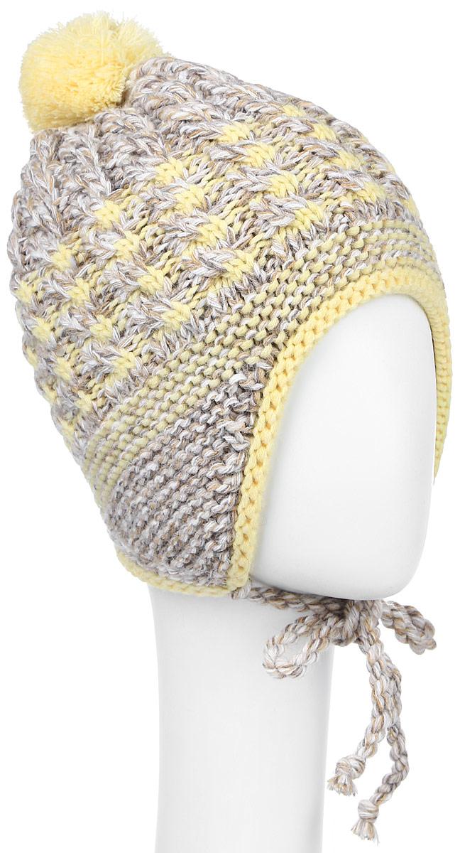 MGU7176/2Теплая шапка для девочки Marhatter выполнена из сочетания высококачественных материалов. Подкладка выполнена из мягкого флиса. Шапка оформлена вязкой с узорами и на макушке дополнена пушистым помпоном. По бокам модель дополнена удлиненными ушками, которые можно завязать на тоненькие вязаные канатики. Уважаемые клиенты! Размер, доступный для заказа, является обхватом головы.