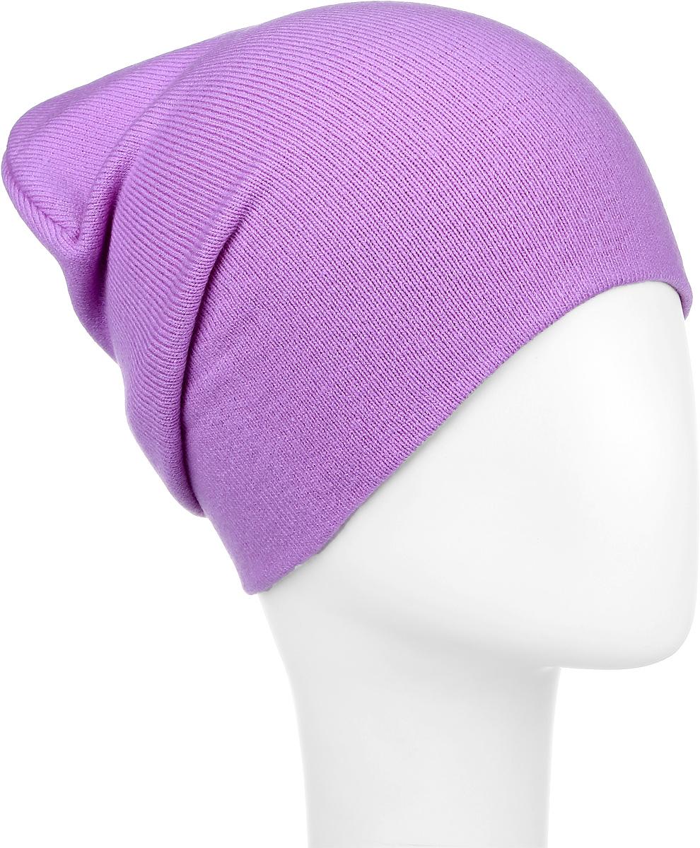 Шапка детскаяRFH5713_013Шапка для девочки Elfrio отлично подойдет для прогулок в прохладное время года. Изделие, изготовленное из акрила и эластана, максимально сохраняет тепло. Шапка плотно прилегает к голове ребенка, мягкая и приятная на ощупь. Удлиненная модель шапки идеально подходит для любого типа лица. Изделие дополнено небольшой жаккардовой нашивкой с названием бренда. Двухслойную шапку можно носить как с отворотом, так и без. Такая модель будет актуальна как на спортивных мероприятиях, так и в повседневной жизни. Современный дизайн и расцветка делают эту шапку модным и стильным предметом детского гардероба. В ней ребенку будет тепло, уютно и комфортно. Уважаемые клиенты! Размер, доступный для заказа, является обхватом головы.