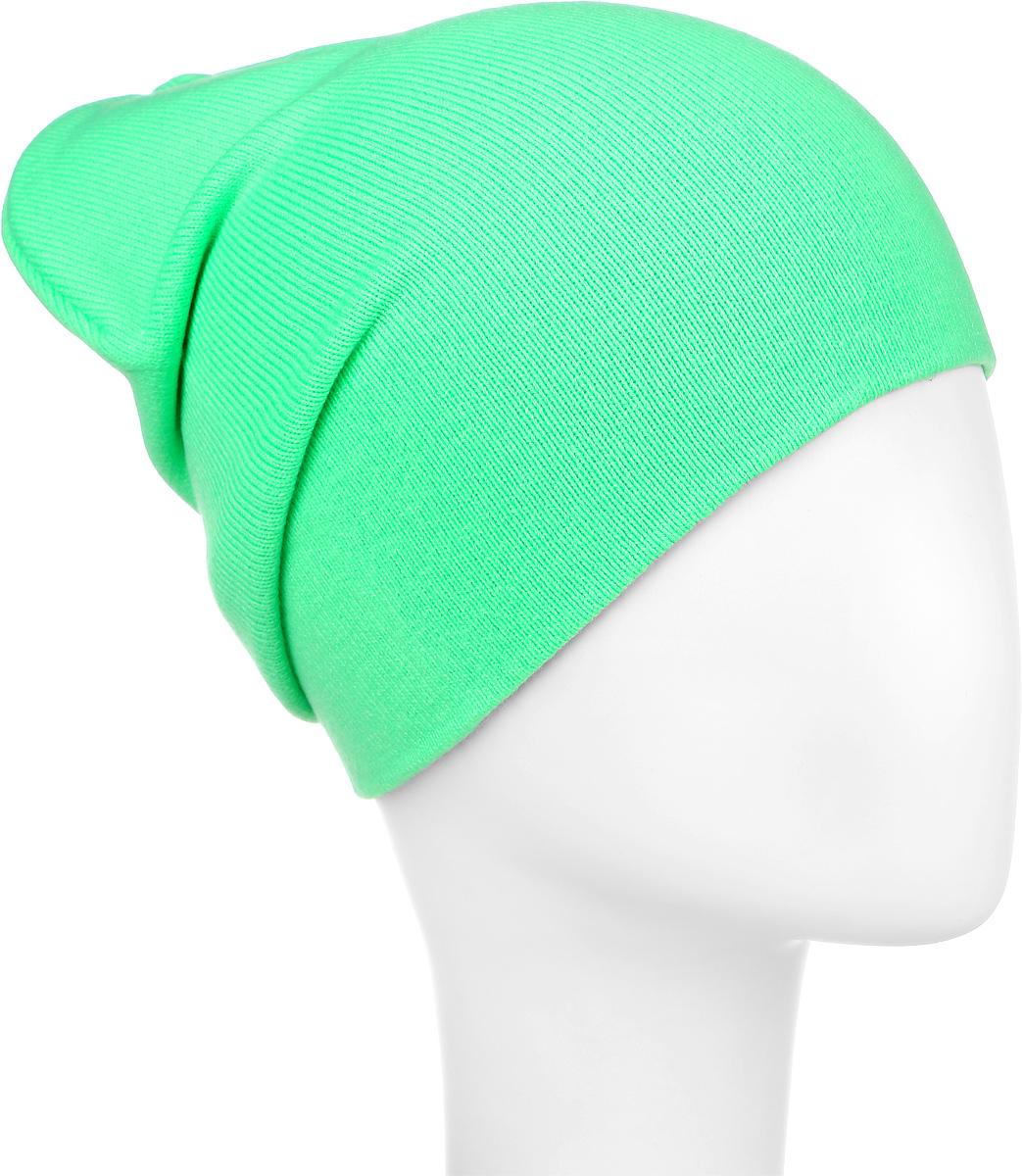 RFH5713_013Шапка для девочки Elfrio отлично подойдет для прогулок в прохладное время года. Изделие, изготовленное из акрила и эластана, максимально сохраняет тепло. Шапка плотно прилегает к голове ребенка, мягкая и приятная на ощупь. Удлиненная модель шапки идеально подходит для любого типа лица. Изделие дополнено небольшой жаккардовой нашивкой с названием бренда. Двухслойную шапку можно носить как с отворотом, так и без. Такая модель будет актуальна как на спортивных мероприятиях, так и в повседневной жизни. Современный дизайн и расцветка делают эту шапку модным и стильным предметом детского гардероба. В ней ребенку будет тепло, уютно и комфортно. Уважаемые клиенты! Размер, доступный для заказа, является обхватом головы.