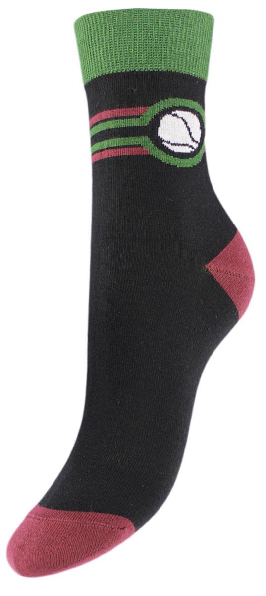 НоскиTCL9Детские подростковые носки выполнены из высококачественного хлопка .Носки изготовлены по европейским стандартам из самой лучшей гребенной пряжи, имеют рисунок мяч теннисный на паголенке и безупречный внешний вид, после стирки не меняют цвет, усилены пятка и мысок для повышенной износостойкости. Носки долгое время сохраняют форму и цвет, а так же обладают антибактериальными и терморегулирующими свойствами.