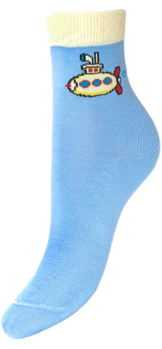 YCL28Детские носки выполнены из высококачественного хлопка. Носки с текстурным рисунком на паголенке подводная лодка хорошо держат форму и обладают повышенной воздухопроницаемостью, имеют безупречный внешний вид, после стирки не меняют цвет, усилены пятка и мысок для повышенной износостойкости, функция отвода влаги позволяет сохранить ноги сухими, благодаря эластану не теряют первоначальные свойства. Компания Гранд использует только натуральные волокна для изготовления детских носков по всем требованиям медицинских стандартов, что не наносит вреда детской коже.