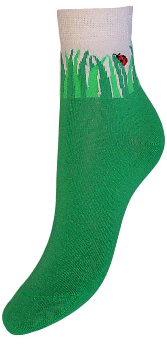 НоскиYCL33Детские носки выполнены из высококачественного хлопка. Носки с текстурным рисунком на паголенке божья коровка сидит на травке хорошо держат форму и обладают повышенной воздухопроницаемостью, имеют безупречный внешний вид, после стирки не меняют цвет, усилены пятка и мысок для повышенной износостойкости. Носки долгое время сохраняют форму и цвет, а так же обладают антибактериальными и терморегулирующими свойствами.