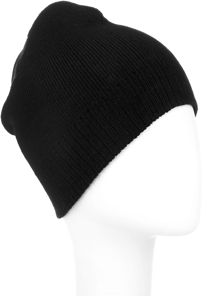 304258Вязаная шапка Ignite идеально подойдет для вас в холодное время года. Изготовленная из акриловой пряжи, она мягкая и приятная на ощупь, обладает хорошими дышащими свойствами и максимально удерживает тепло. Модель плотно облегает голову, благодаря чему надежно защищает от ветра и мороза. Теплая двухслойная шапка понизу связана крупной резинкой. Такой стильный и теплый аксессуар дополнит ваш образ и подчеркнет индивидуальность! Уважаемые клиенты! Размер, доступный для заказа, является обхватом головы.