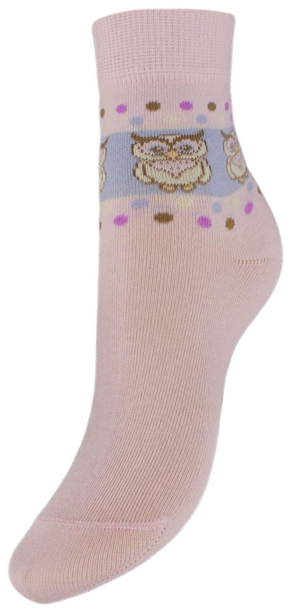 НоскиYCL43Детские носки выполнены из высококачественного хлопка, предназначены для повседневной носки. Носки имеют классический паголенок с рисунком совы и безупречный внешний вид, хорошо держат форму и обладают повышенной воздухопроницаемостью, после стирки не меняют цвет, усилены пятка и мысок. За счет добавленной лайкры в пряжу, повышена эластичность и срок службы изделия. Носки долгое время сохраняют форму и цвет, а так же обладают антибактериальными и терморегулирующими свойствами.