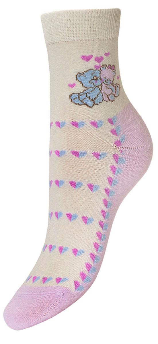 НоскиYCL44Детские носки выполнены из высококачественного хлопка, предназначены для повседневной носки. Носки имеют классический паголенок с текстурным рисунком два мишки, бесшовную технологию зашивки мыска (кеттельный шов), безупречный внешний вид, хорошо держат форму и обладают повышенной воздухопроницаемостью, после стирки не меняют цвет, усилены пятка и мысок. За счет добавленной лайкры в пряжу, повышена эластичность и срок службы изделия. Носки долгое время сохраняют форму и цвет, а так же обладают антибактериальными и терморегулирующими свойствами.