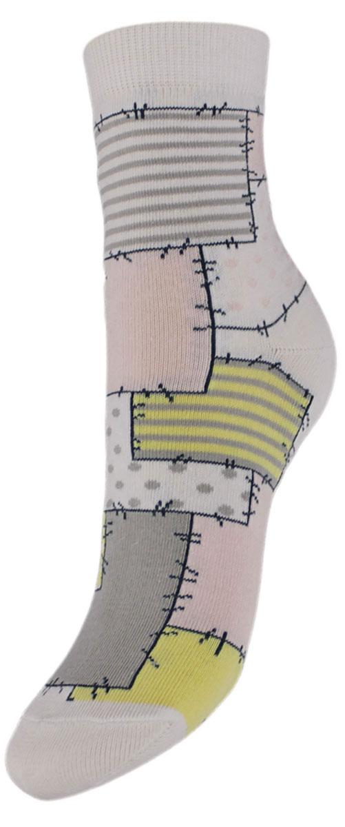 НоскиYCL48Детские носки выполнены из высококачественного хлопка. Носки с текстурным рисунком по всему носку заплатки хорошо держат форму и обладают повышенной воздухопроницаемостью, имеют безупречный внешний вид, после стирки не меняют цвет, усилены пятка и мысок. За счет добавления лайкры в пряжу, повышена эластичность и срок службы изделия. Носки произведены по европейским стандартам на современный вязальных автоматах.