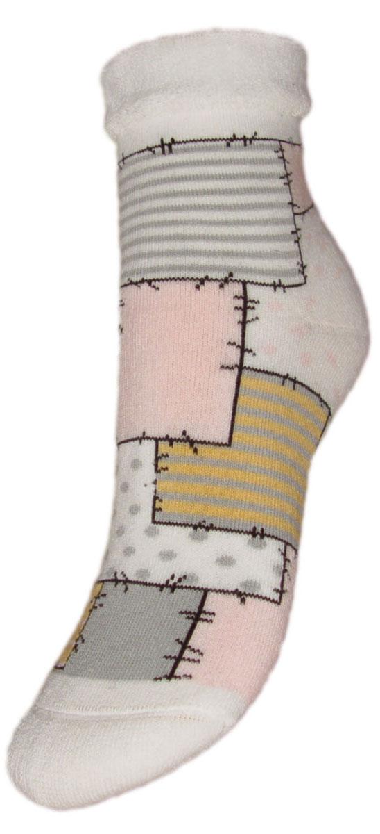 НоскиYCL48MДетские зимние носки выполнены из высококачественного хлопка. Махра отлично сохраняет тепло. Носки с текстурным рисунком лоскуты хорошо держат форму и обладают повышенной воздухопроницаемостью, имеют безупречный внешний вид, после стирки не меняют цвет, усилены пятка и мысок. За счет добавленной лайкры в пряжу, повышена эластичность и срок службы изделия. Носки долгое время сохраняют форму и цвет, а так же обладают антибактериальными и терморегулирующими свойствами.