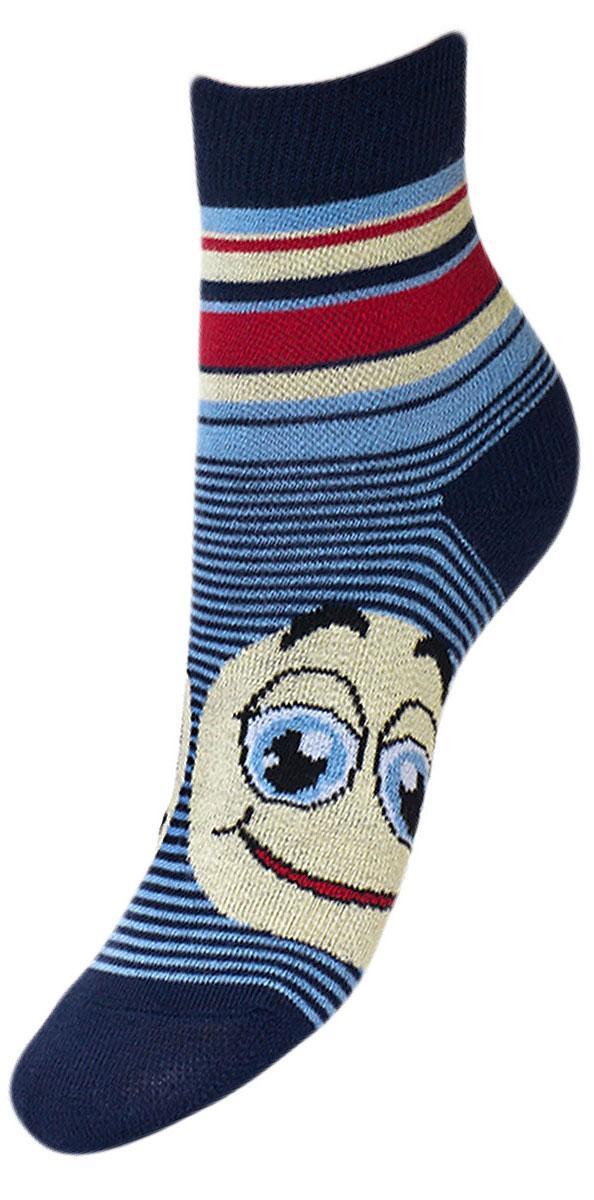YCL49Детские носки из высококачественного хлопка: - текстурный рисунок с боку смайлик; - хорошо держат форму и обладают повышенной воздухопроницаемостью; - безупречный внешний вид; - после стирки не меняют цвет; - усилены пятка и мысок Носки долгое время сохраняют форму и цвет, а так же обладают антибактериальными и терморегулирующими свойствами.
