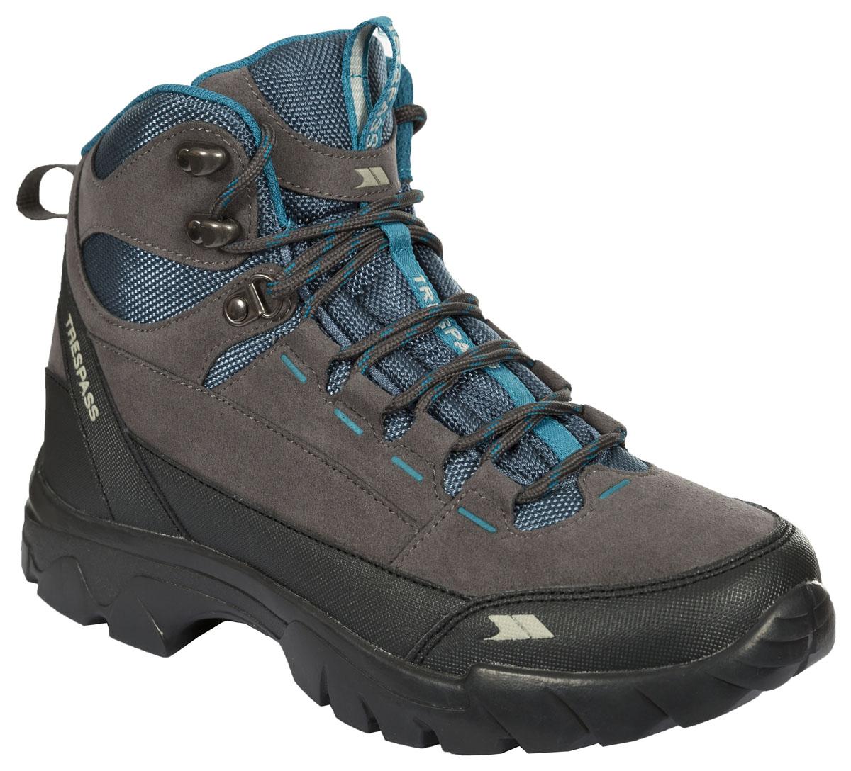 БотинкиFAFOBOL20005Современные трекинговые женские ботинки Illya от Trespass выполнены из текстильного водонепроницаемого материала. Специальное покрытие эффективно обеспечивает сухость и комфорт вашим ногам. Подкладка и стелька из текстиля комфортны при движении. Шнуровка надежно зафиксирует модель на ноге. Подошва дополнена рифлением.