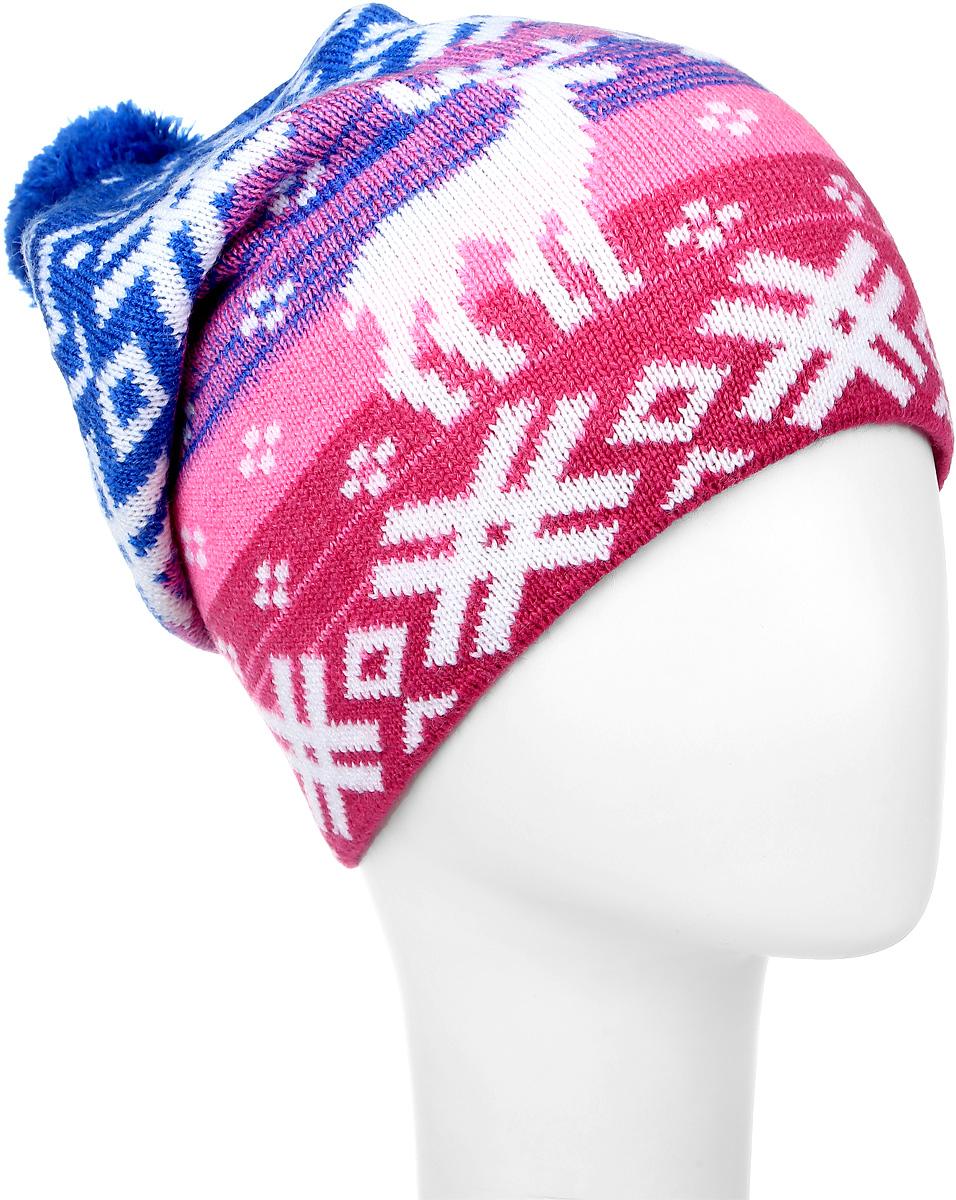 MLH7193/1Теплая женская шапка Marhatter отлично дополнит ваш образ в холодную погоду. Удлиненная модель дополнена на макушке небольшим помпоном. Спереди модель дополнена небольшой нашивкой. Такая шапка составит идеальный комплект с модной верхней одеждой, в ней вам будет уютно и тепло. Уважаемые клиенты! Размер, доступный для заказа, является обхватом головы.