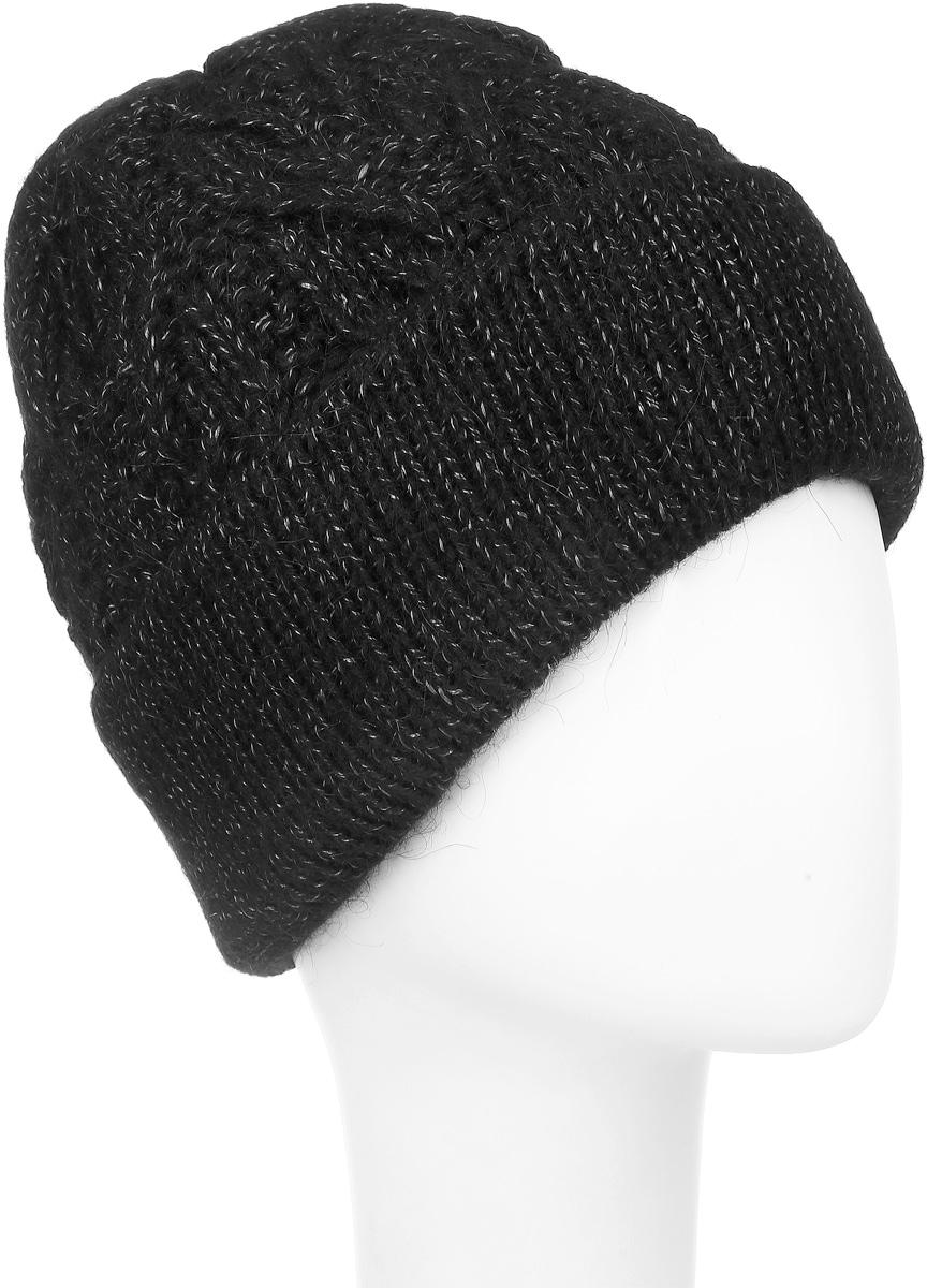 ШапкаSWH5738/2Теплая женская шапка Snezhna отлично дополнит ваш образ в холодную погоду. Сочетание высококачественных материалов максимально сохраняет тепло и обеспечивает удобную посадку, невероятную легкость и мягкость. Подкладка выполнена из мягкого флиса. Классическая шапка с большим отворотом выполнена крупной вязкой с узорами. Модель составит идеальный комплект с модной верхней одеждой, в ней вам будет уютно и тепло. Уважаемые клиенты! Размер, доступный для заказа, является обхватом головы.