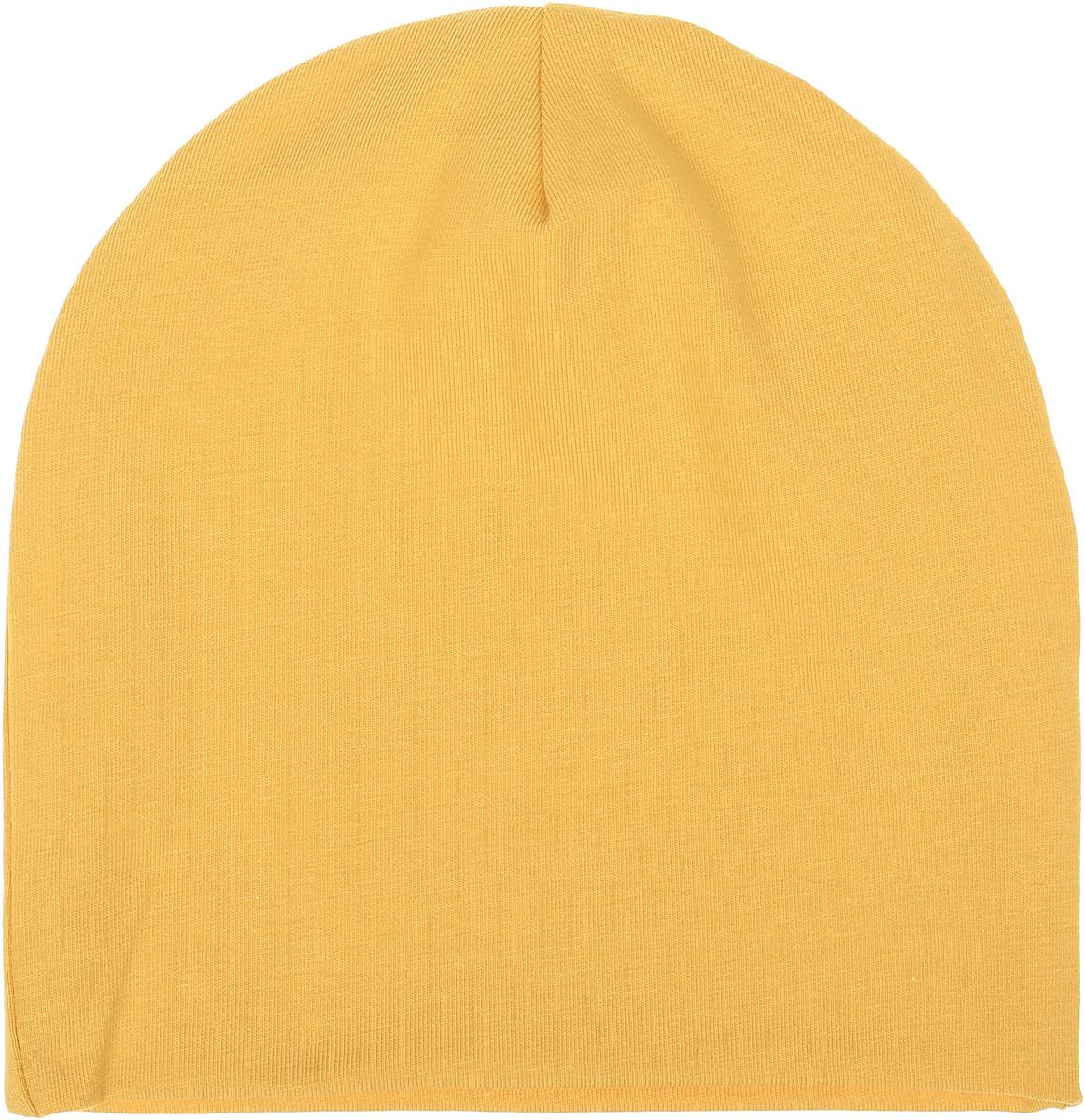 Шапка детская45-605Теплая шапка для мальчика Ёмаё выполнена из сочетания высококачественного хлопка с эластаном. Шапка выполнена в лаконичном однотонном стиле. Уважаемые клиенты! Размер, доступный для заказа, является обхватом головы.