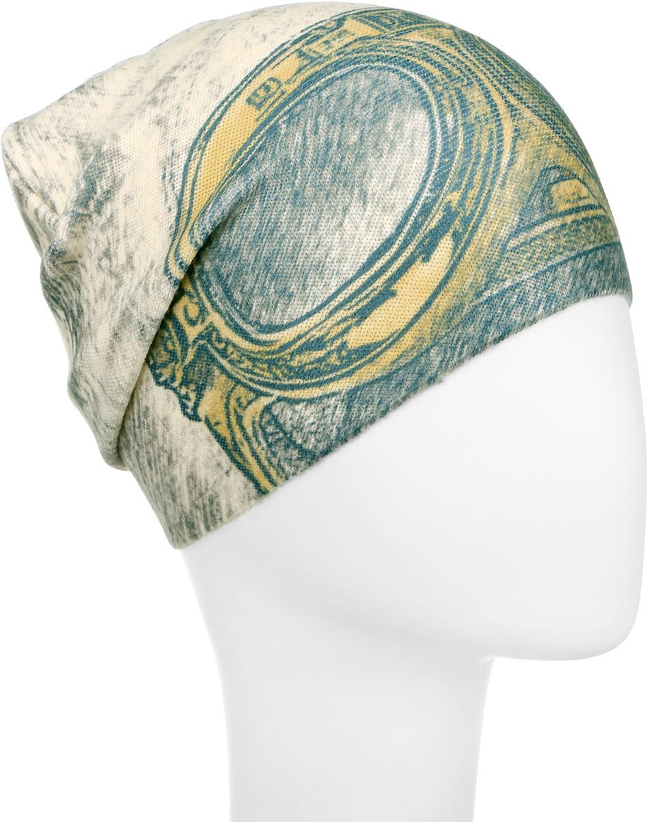 M4741-22Теплая шапка для мальчика Fishka выполнена из сочетания высококачественных материалов. Шапка на ощупь очень мягкая и оформлена оригинальным принтом. Уважаемые клиенты! Размер, доступный для заказа, является обхватом головы.