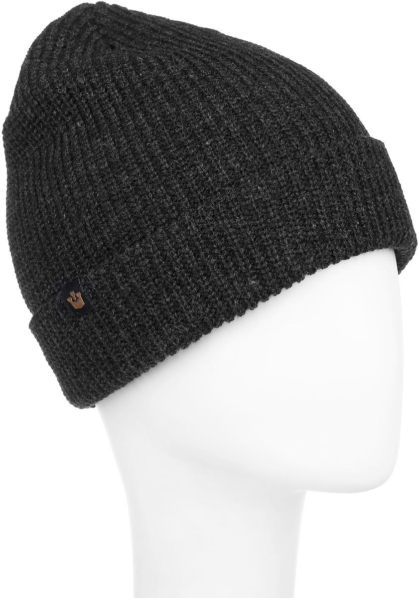 Шапка107-9928Теплая шапка Goorin Brothers выполнена из высококачественного акрила. Шапка двойная с отворотом выполнена в однотонном лаконичном цвете и дополнена фирменной нашивкой с логотипом бренда. Уважаемые клиенты! Размер, доступный для заказа, является обхватом головы.