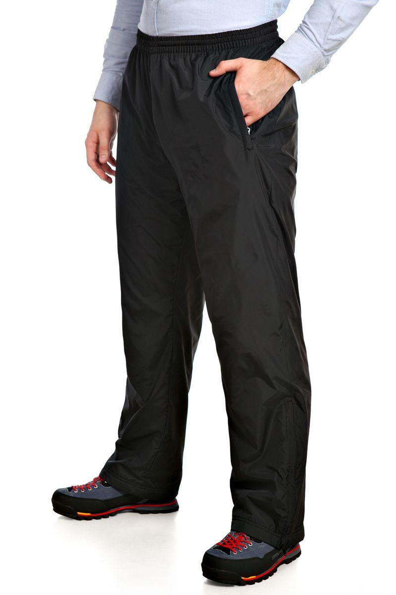 14418_BlackУтепленные мужские брюки Xaska выполнены из высококачественного полиэстера. Подкладка выполнена из теплого флиса. Модель прямого кроя и стандартной посадки регулируется по поясу шнурком. Низ брючин дополнен молниями для регулировки ширины. Спереди брюки дополнены двумя втачными карманами на застежке-молнии и сзади одним прорезным карманом на молнии.
