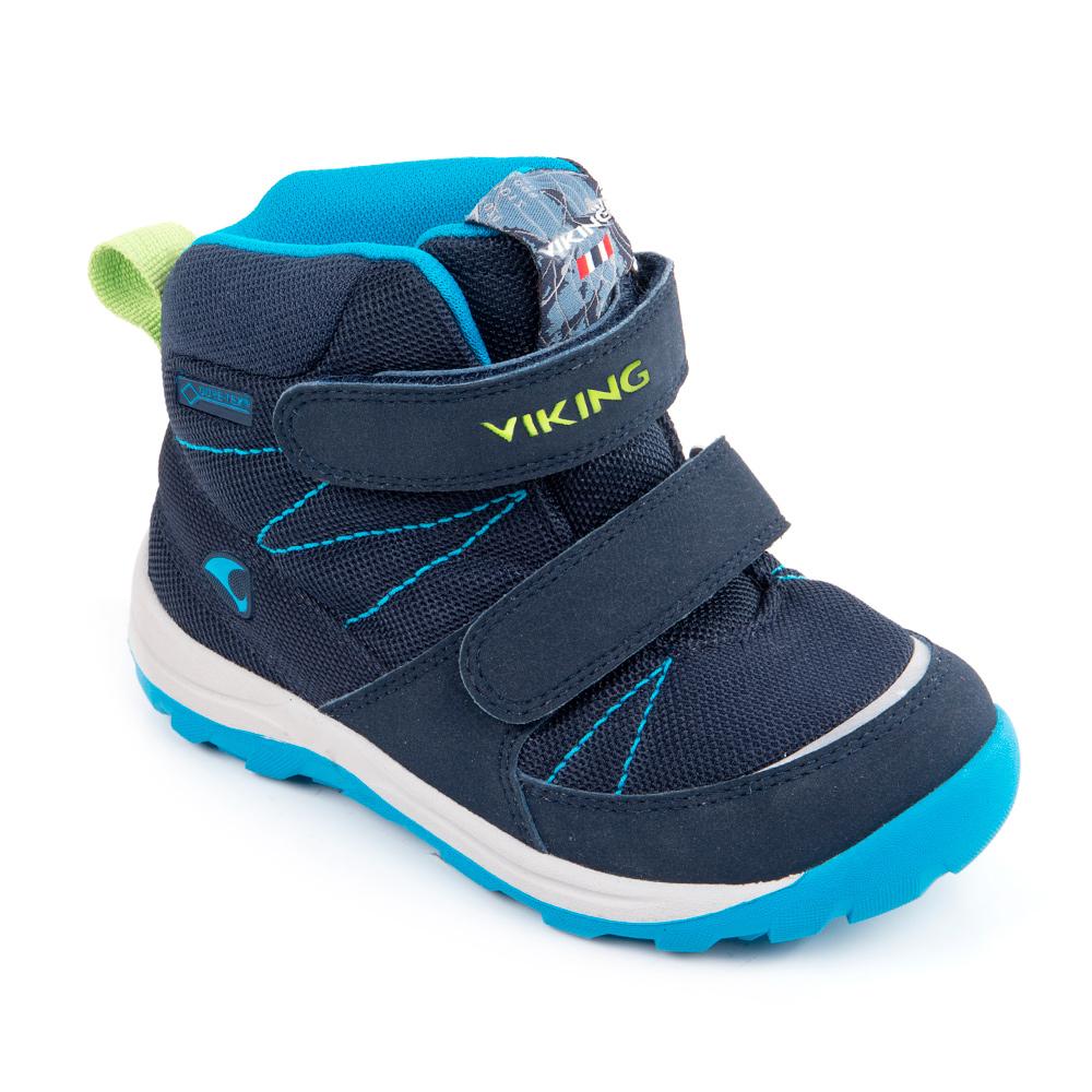 3-86040-00535Теплые ботинки Viking Rissa GTX выполнены из плотного высококачественного текстиля с накладками из искусственной кожи. Модель оформлена декоративной прострочкой и фирменными нашивками. Ремешки с застежками-липучками, один из которых оформлен тисненой надписью с названием бренда, надежно зафиксируют модель на ноге. Ярлычок на заднике облегчит надевание модели. Мягкий кант обеспечит комфорт при движении. Верхняя часть внутренней поверхности выполнена из текстиля. Подкладка и стелька из искусственного меха обеспечат тепло и комфорт. Подошва изготовлена из прочной и легкой резины и дополнена протектором, который гарантирует отличное сцепление с любой поверхностью.