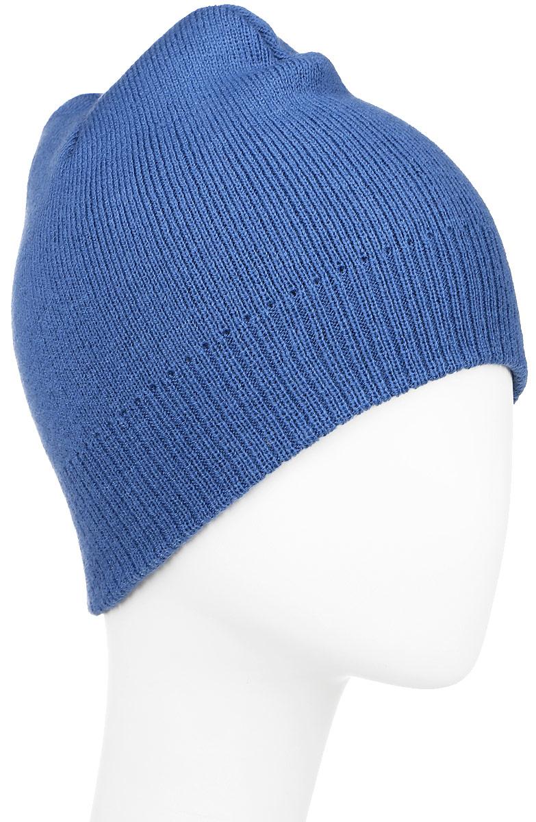 Шапка304258Вязаная шапка Ignite идеально подойдет для вас в холодное время года. Изготовленная из акриловой пряжи, она мягкая и приятная на ощупь, обладает хорошими дышащими свойствами и максимально удерживает тепло. Модель плотно облегает голову, благодаря чему надежно защищает от ветра и мороза. Теплая двухслойная шапка понизу связана крупной резинкой. Такой стильный и теплый аксессуар дополнит ваш образ и подчеркнет индивидуальность! Уважаемые клиенты! Размер, доступный для заказа, является обхватом головы.