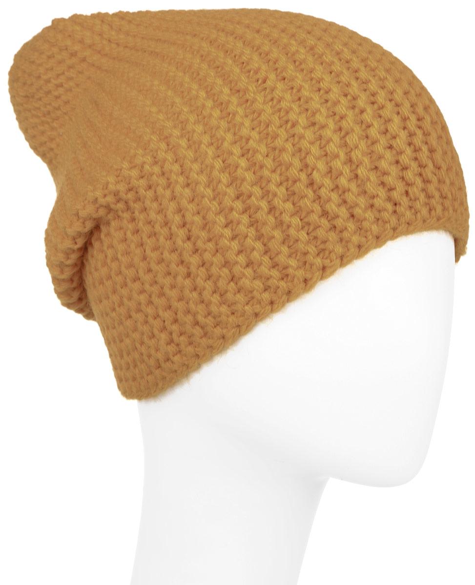 Шапка детскаяК073-22Теплая шапка для девочки Concept изготовлена из высококачественного акрила и хлопка. Удлиненная шапка выполнена в лаконичном однотонном стиле и дополнена фирменной нашивкой. Уважаемые клиенты! Размер, доступный для заказа, является обхватом головы.