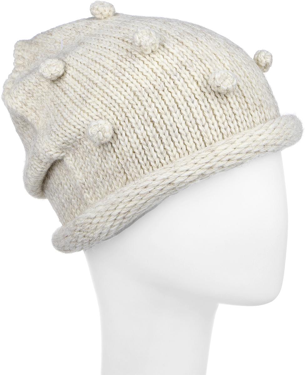 Шапка детскаяСкитлс-22Стильная вязаная шапка для девочки Concept идеально подойдет для прогулок в прохладное время года. Изготовленная из акрила с добавлением шерсти, она обладает хорошими дышащими свойствами и хорошо удерживает тепло. Шапка декорирована объемными горошинами. Уважаемые клиенты! Размер, доступный для заказа, является обхватом головы ребенка.