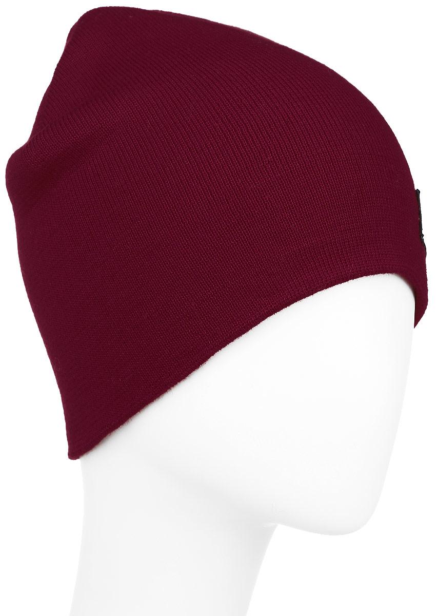 Шапка304340Теплая шапка Ignite выполнена из высококачественного акрила. Шапка двойная выполнена в однотонном лаконичном цвете и дополнена фирменной нашивкой с надписями. Уважаемые клиенты! Размер, доступный для заказа, является обхватом головы.