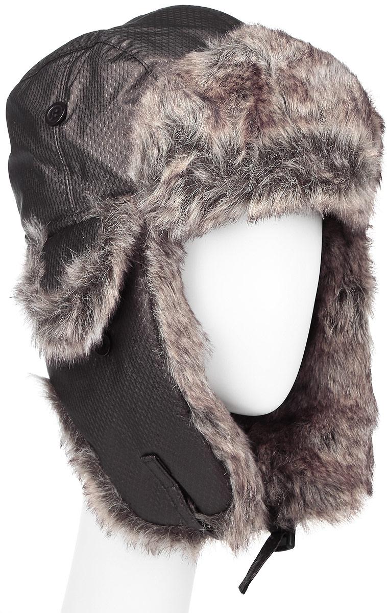 9053Удобная и теплая шапка-ушанка с отделкой из искусственного меха Herman - великолепный головной убор на зиму. Свойство ушанки сохранять тепло лежит в функциональной конструкции и деталях, плотно закрывающих лоб и уши. Модель застегивается с помощью хлястика с застежкой-защелкой. Уважаемые клиенты! Размер, доступный для заказа, является обхватом головы.