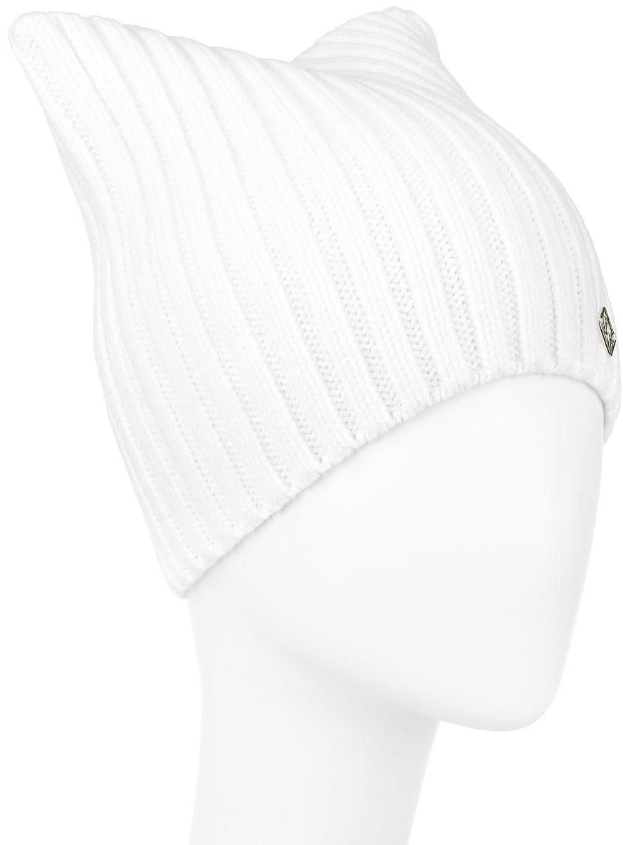 ШапкаW16-32129_211Вязаная женская шапка Finn Flare отлично подойдет для модниц в холодное время года. Изготовленная из шерсти и акрила, она мягкая и приятная на ощупь, обладает хорошими дышащими свойствами и максимально удерживает тепло. Модель квадратной формы связана резинкой и украшена небольшой металлической пластиной с названием бренда. Такая шапка не только теплый головной убор, но и стильный аксессуар. Она подчеркнет ваш образ и индивидуальность! Уважаемые клиенты! Размер, доступный для заказа, является обхватом головы.