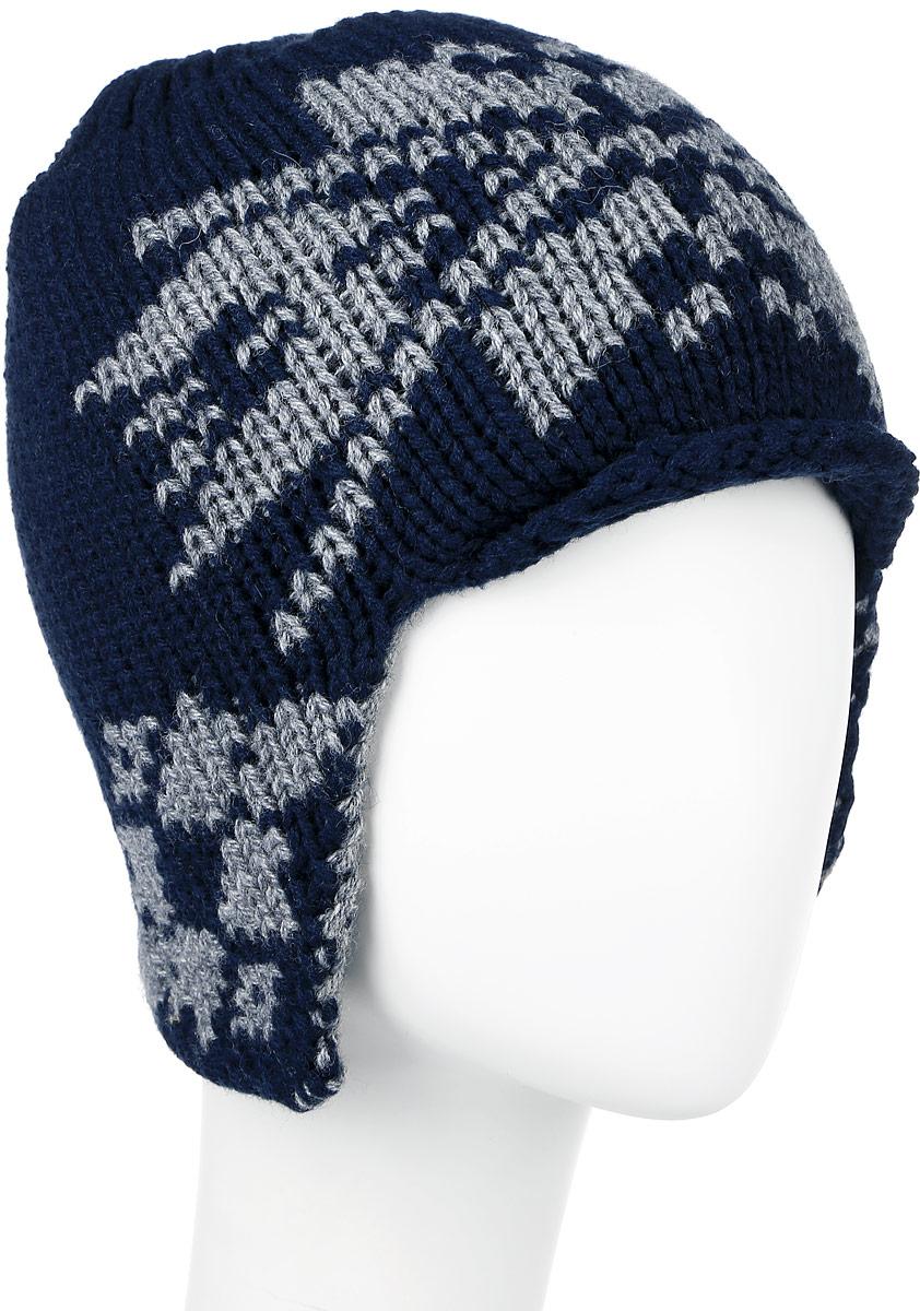 ШапкаW16-22118_202Теплая мужская шапка Finn Flare отлично дополнит ваш образ в холодную погоду. Сочетание теплой шерсти и акрила максимально сохраняет тепло и обеспечивает удобную посадку, невероятную легкость и мягкость. Шапка по бокам немного удлинена и украшена металлическим декоративным элементом с названием бренда. Незаменимая вещь на прохладную погоду. Модель составит идеальный комплект с модной верхней одеждой, в ней вам будет уютно и тепло. Уважаемые клиенты! Размер, доступный для заказа, является обхватом головы.
